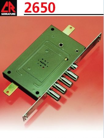 CR Serrature 2650/28 biztonsági zár kéttollú kulccsal