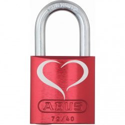 Abus alumínium lakat 72/40 Love Lock