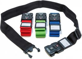 ABUS 620TSA/192 Számkombinációs bőrönd zár (poggyász zár)
