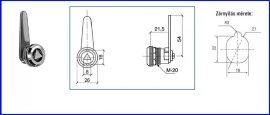 Bútorzár A-193 Kéményzár